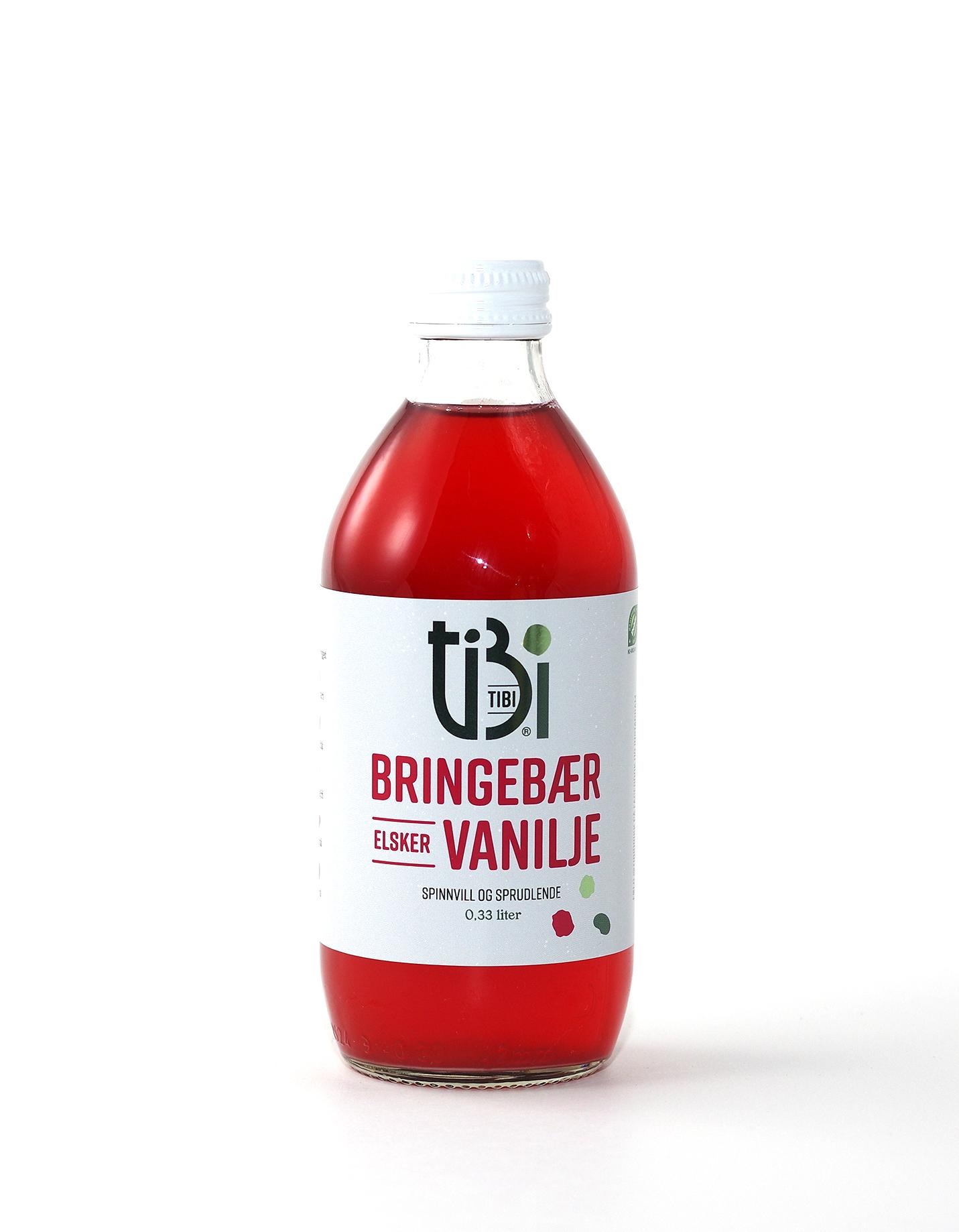 TIBI drikk bringebær
