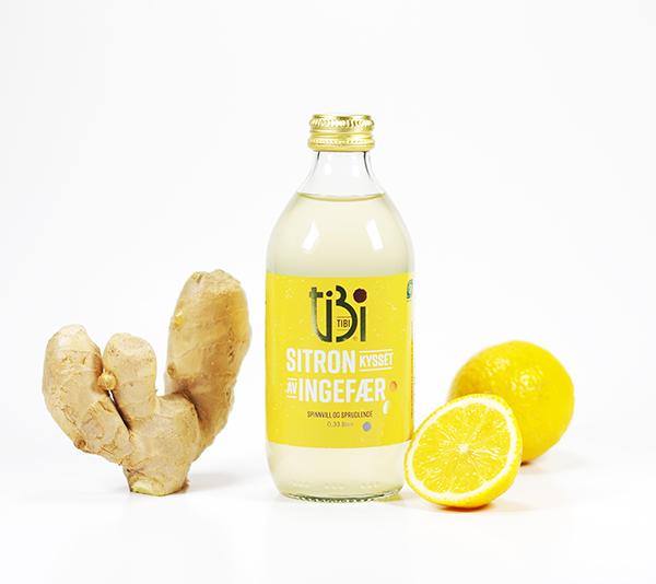 TIBI drikk sitron kysset av ingefær